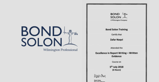 Bond Solon Excellence Course July 2018