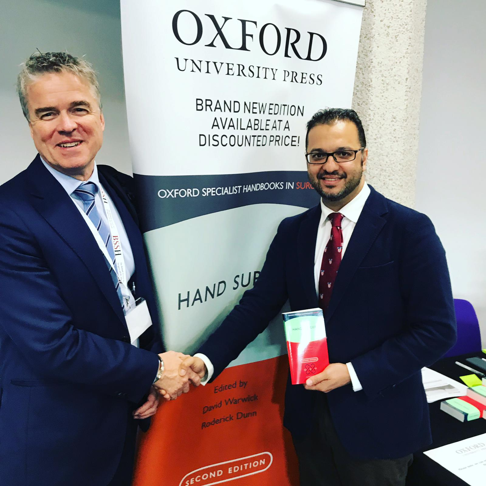 Book Launch for The Oxford Handbook of #HandSurgery